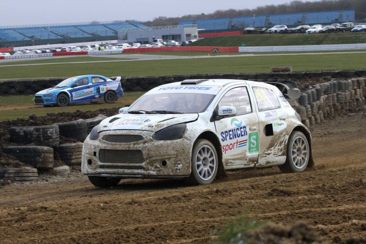 Round 7 of the British Rallycross Championship at Lydden