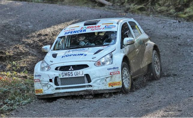 Welsh victory for Spencer Sport on the Cambrian Rally