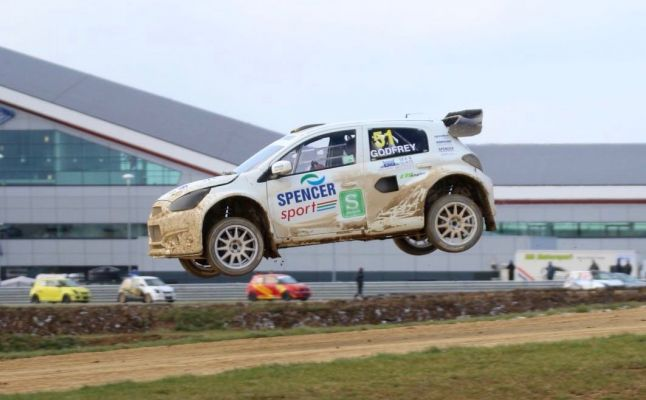 Maximum points from British Rallycross Championship opening round endorses competitiveness of Spencer Sport Mirage RX