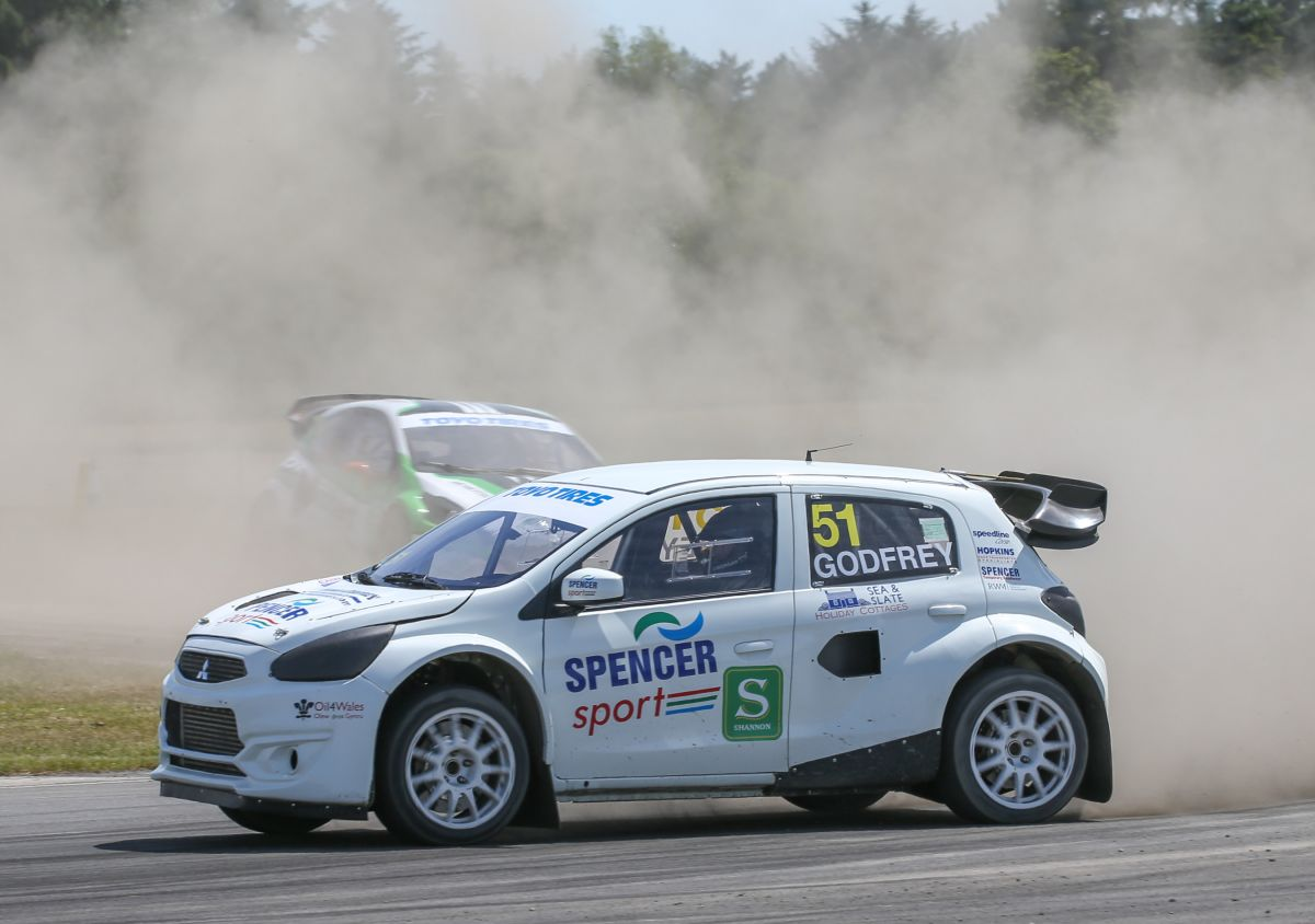 Spencer Sport relishes British RX return to Croft